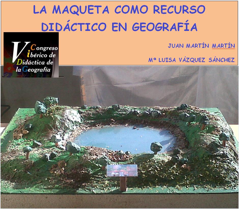 de didactica de la geografia celebrado en malaga el 25