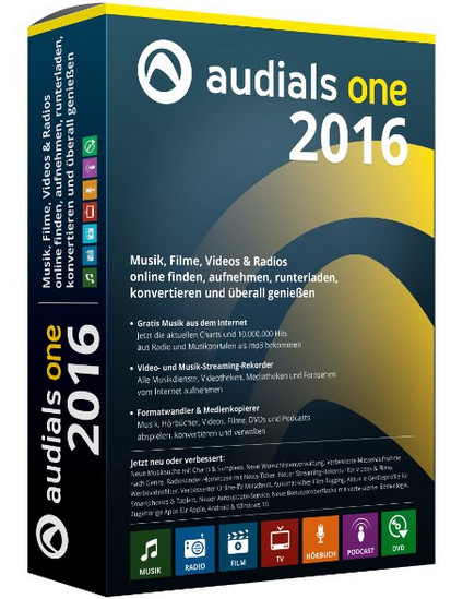Audials One 2016 14.1.700.0