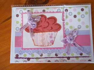 Cupcake Themed Card