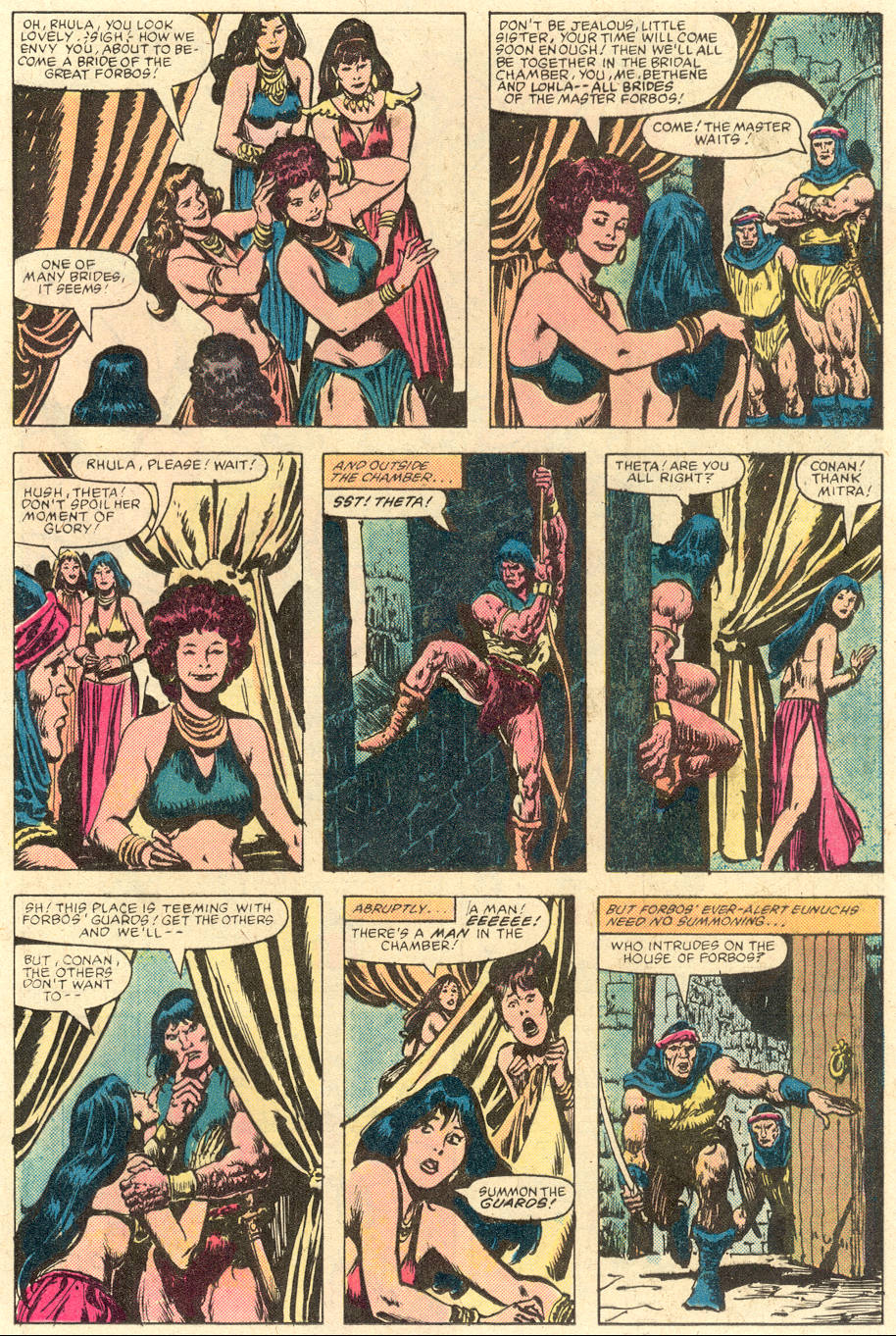 Conan the Barbarian (1970) Issue #142 #154 - English 14