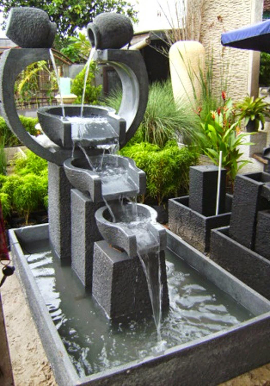 Tukang kolam minimalis (miniature air terjun) | solusi pertamanan, jasa penanaman rumput dan pembuatan taman, supllier tanaman hias dan rumput