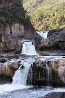 Mexico kayak whitewater, chris Baer WhereIsBaer.com water falls mexico tripple
