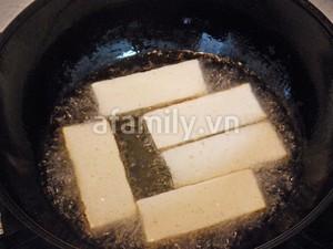 Nấm kim châm xào đậu phụ ngon cơm