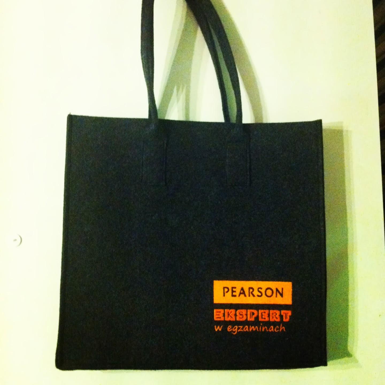 torba na książki Pearson