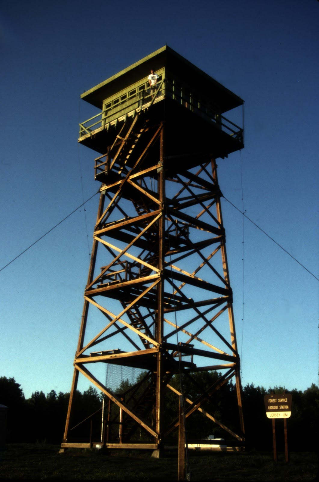 What 39 s that in colorado jersey jim fire lookout tower for Fire lookout tower plans