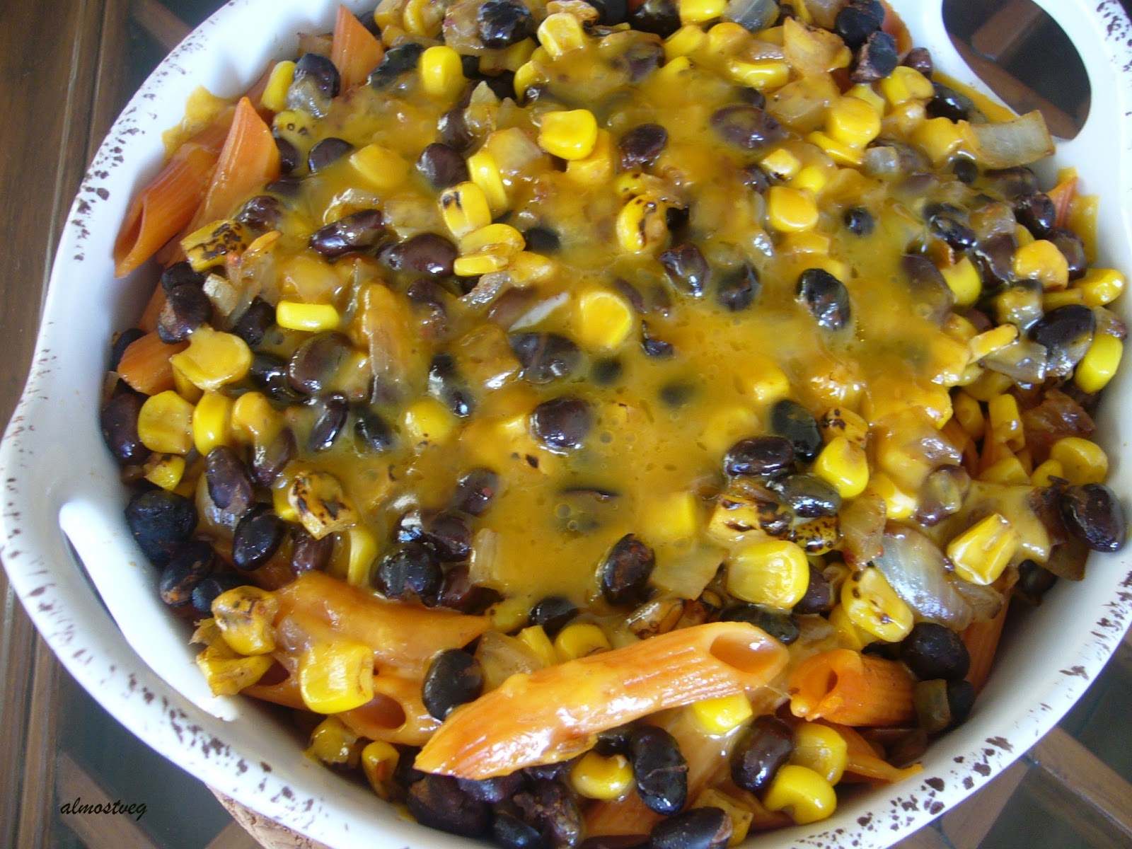 Almostveg mexican style pasta bake with roasted corn and black beans ccuart Gallery