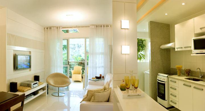 decoracao simples para ambientes pequenos : decoracao simples para ambientes pequenos:Sala-De-Apartamento-Pequeno