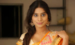 Actress Midhuna New photo session in Saree-thumbnail