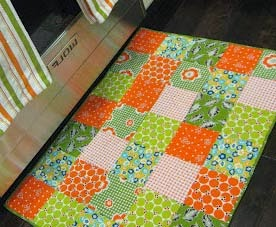 Tapetes quadrados pequenos