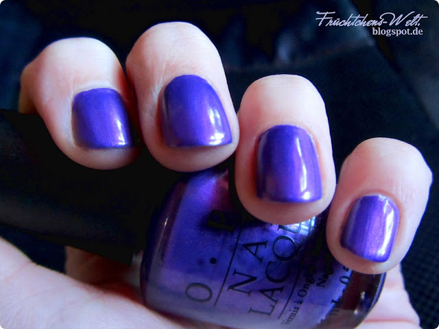 Review OPI PURPLE WITH A PURPOSE