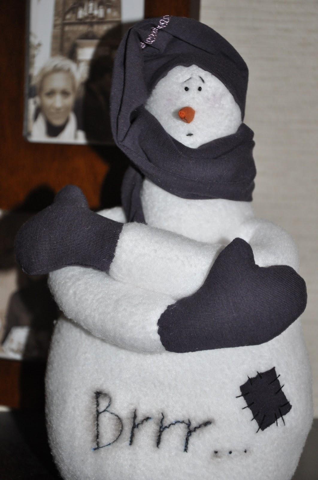 снеговик тильда Brrr...