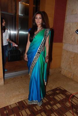 Bollywood Actress Riya Sen Saree Photos