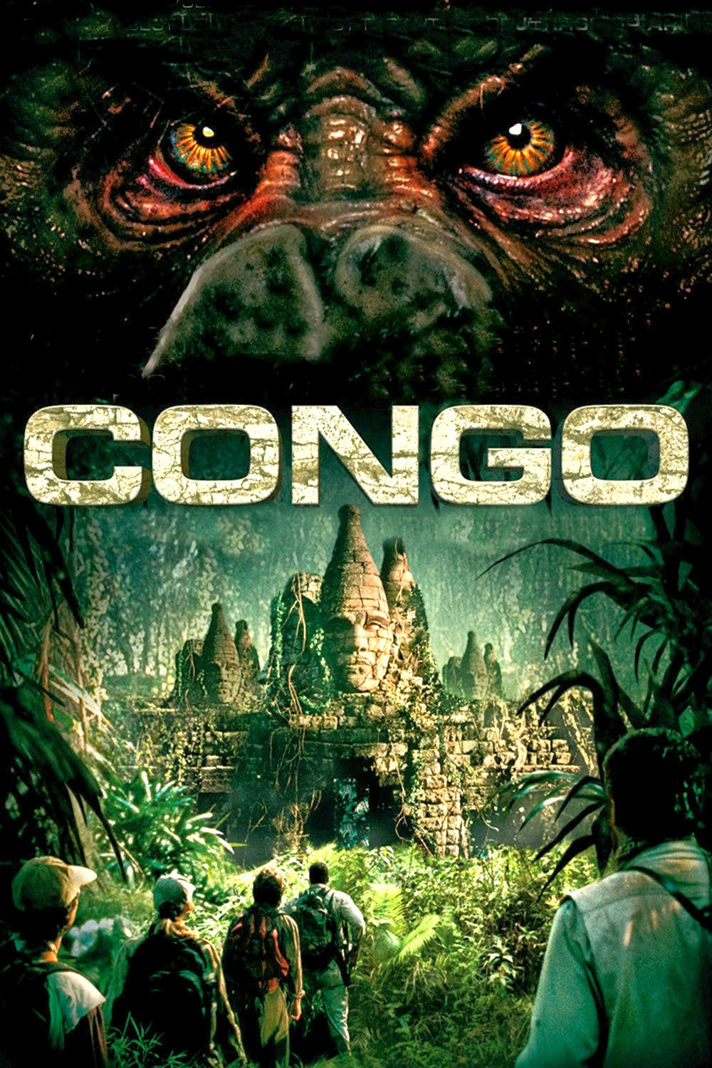 cover of Congo by Michael Crichton