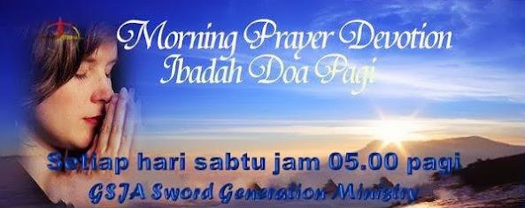 Ibadah Doa Pagi