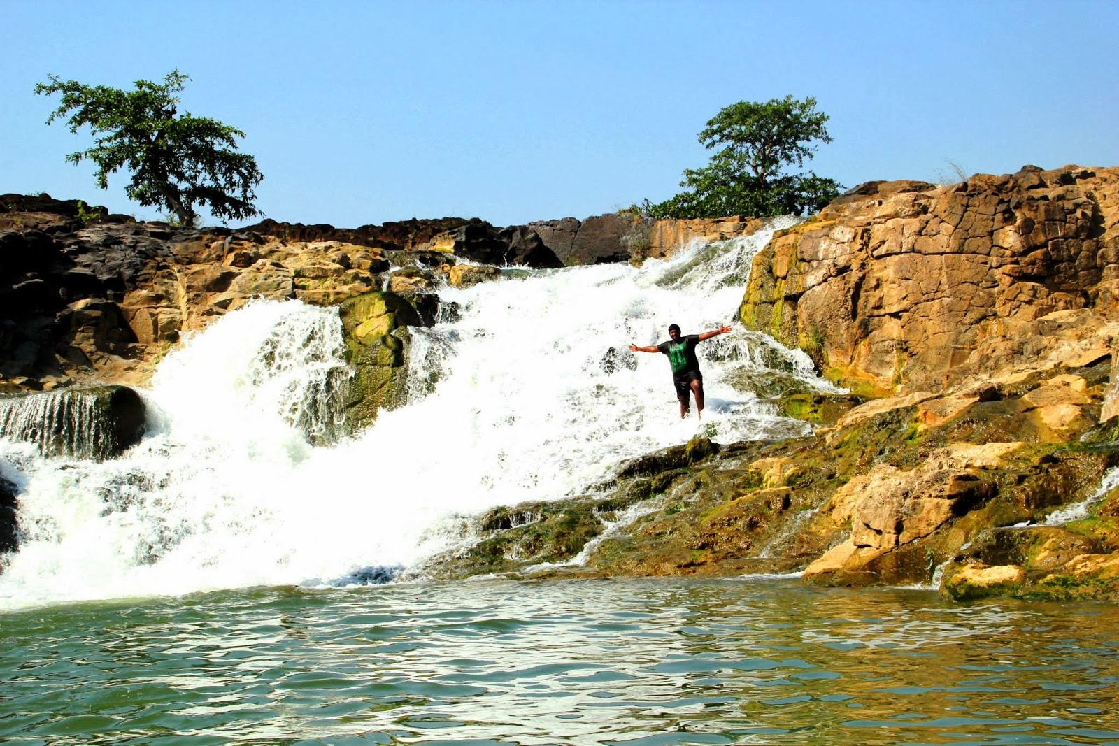 Kanakai waterfalls