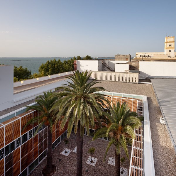 Centro de arte contempor neo de c diz de fernando for Blog arquitectura y diseno