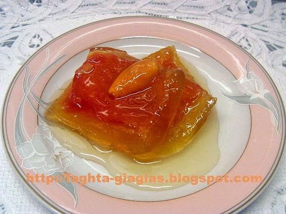 Καρπούζι γλυκό του κουταλιού - Τα φαγητά της γιαγιάς