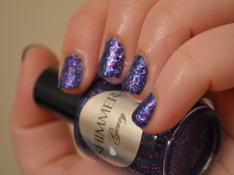 shimmer polish gerry swatch