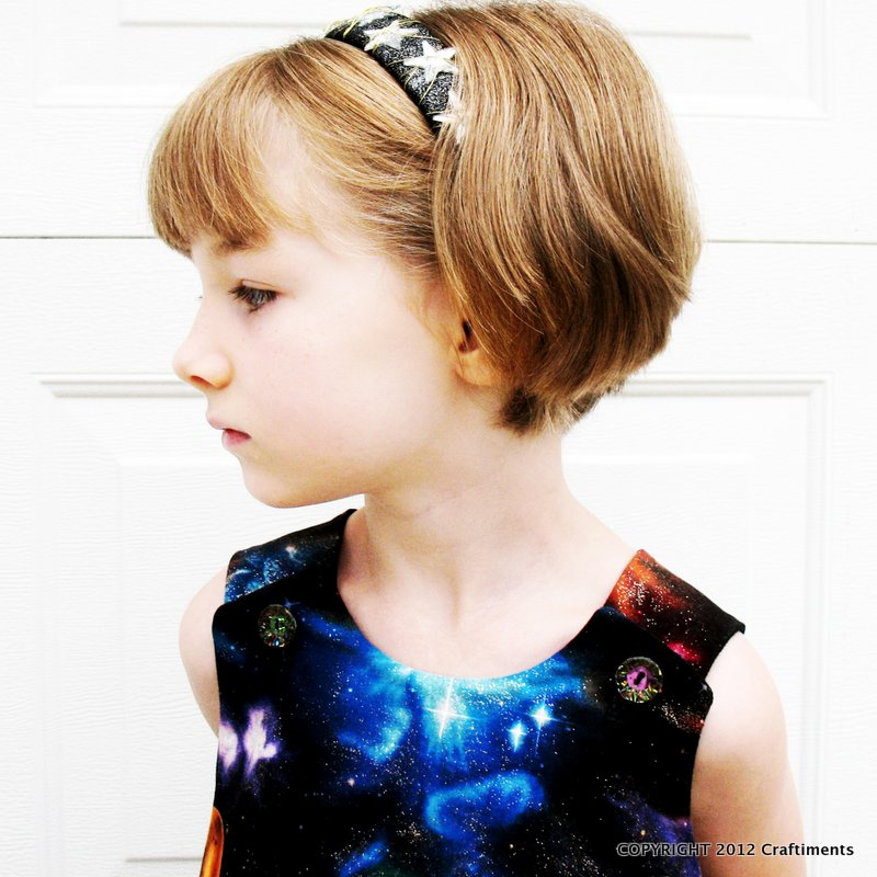 Craftiments:  Crown of stars headband