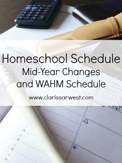 Working from home while homeschooling, how we schedule it all