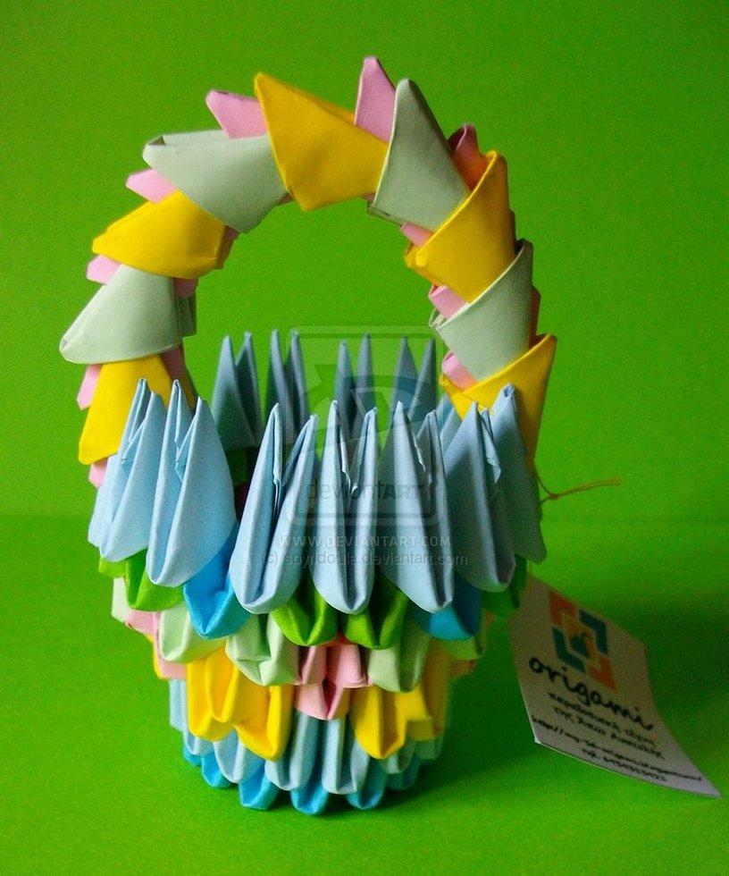 Подарок бабушке своими руками на день рождения оригами 22
