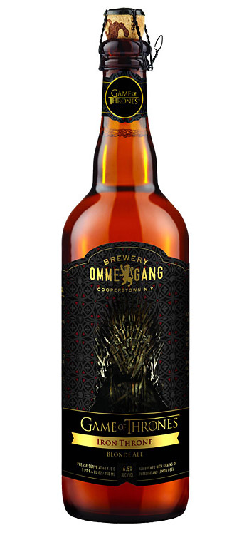 Game of Thrones Beer If Game Of Thrones was a reality show, this HBO-branded beer