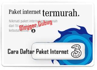 tarif paket internet 3