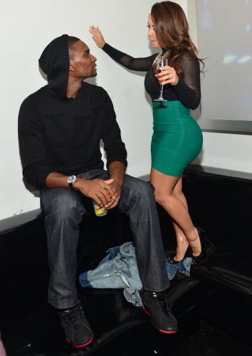 nouvelle ml574 d quilibre beige - Celeb Sneaker Game: Chris Bosh Rocking Air Jordan VII ��Raptors ...