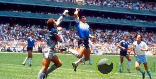 Gol 'Tangan Tuhan' Maradona, Argentina vs Inggris 1986