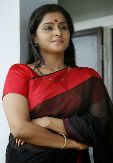 Actress Remya Nambeesan Latest Picture Gallery in Saree 0001.jpg