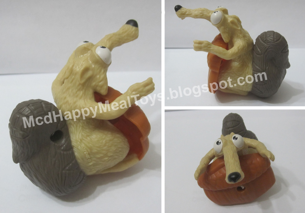 Toys From Ice Age 1 : Happy meal toys collection fan site ice age