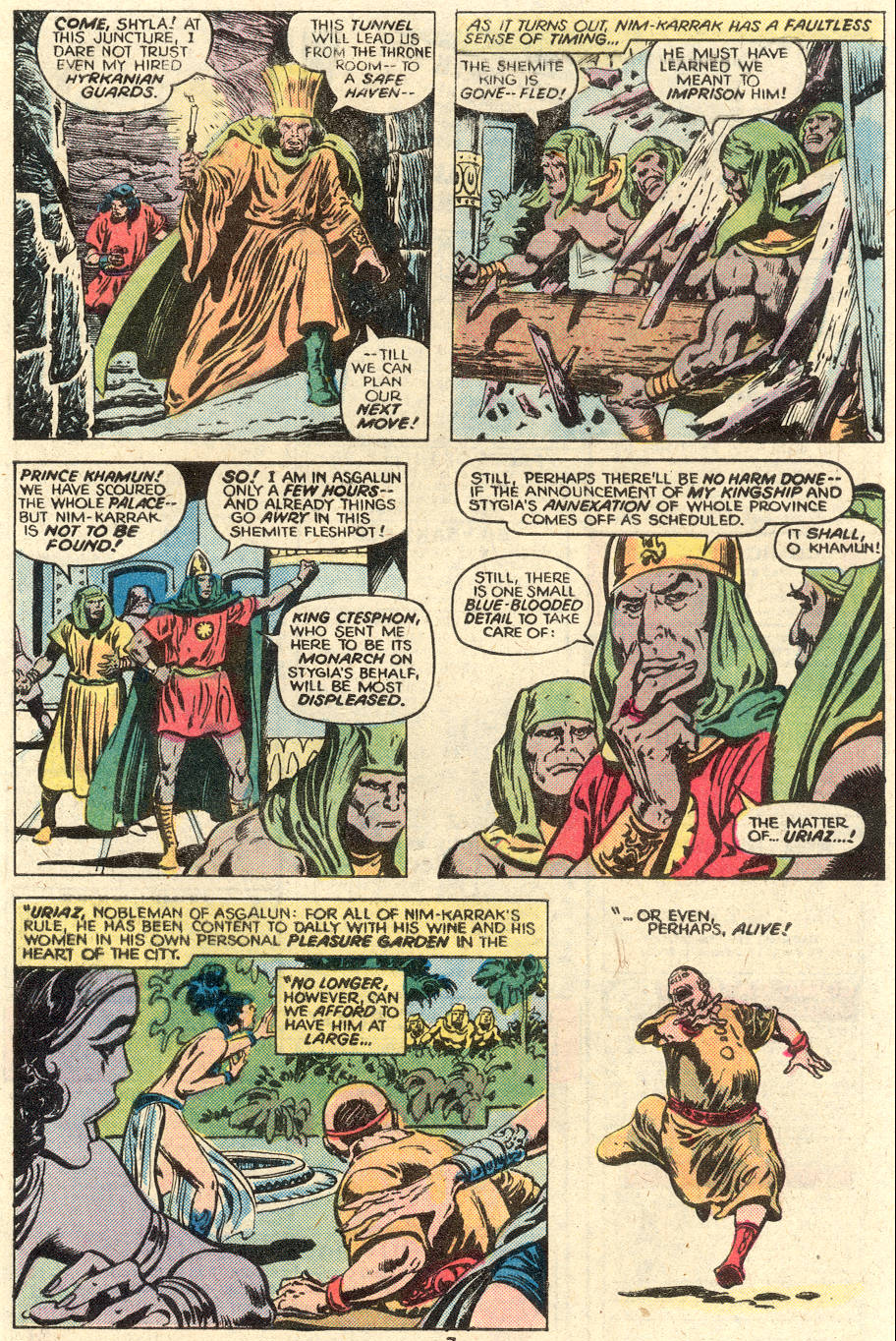 Conan the Barbarian (1970) Issue #93 #105 - English 7