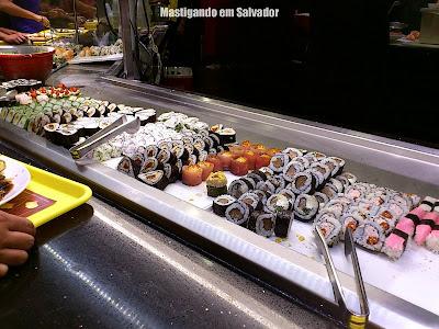 Tokai Express: Opções do Buffet