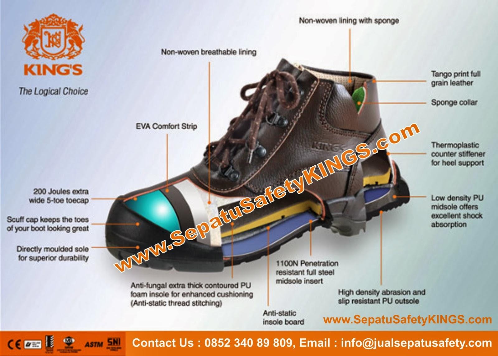 JUAL SEPATU SAFETY Shoes - Boot Harga MURAH - Toko Grosir - Holiday