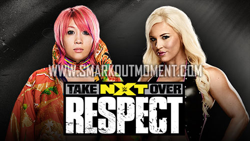 WWE NXT TakeOver Respect Dana Brooke vs Asuka