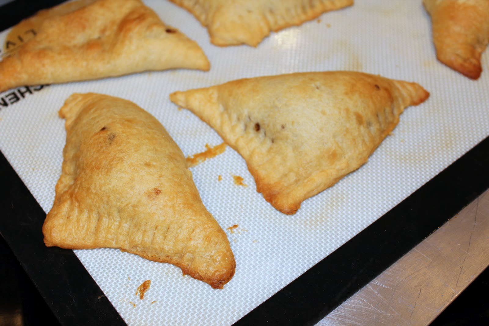 Sprinkles of Life: S'mores Turnovers with Cookie Butter