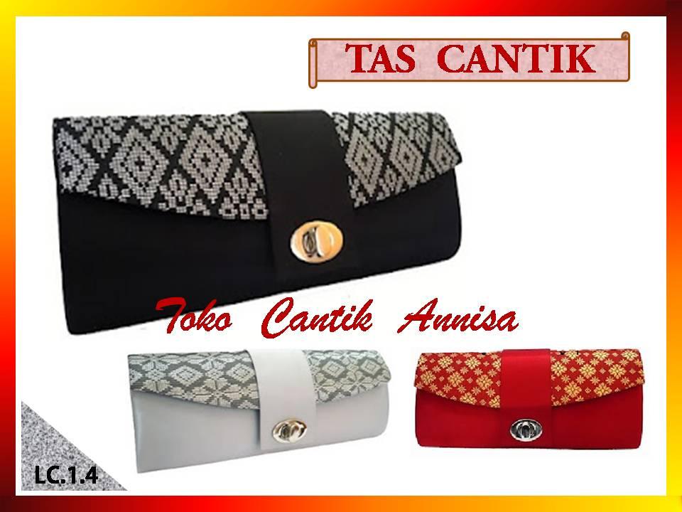 TOKO CANTIK ANNISA  Tas Pesta Songket LC.1.4 c2685a6cd8