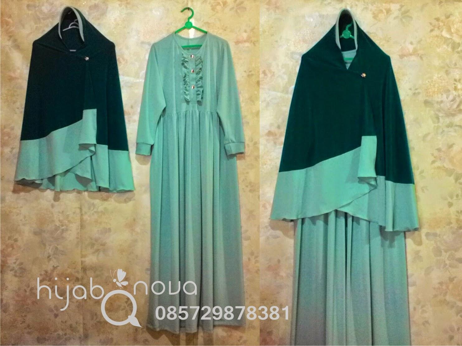 Jilbab Gamis Jersey Untuk Ibu Menyusui