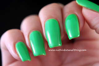 Maybelline Color Show Neon Collection Green Zing