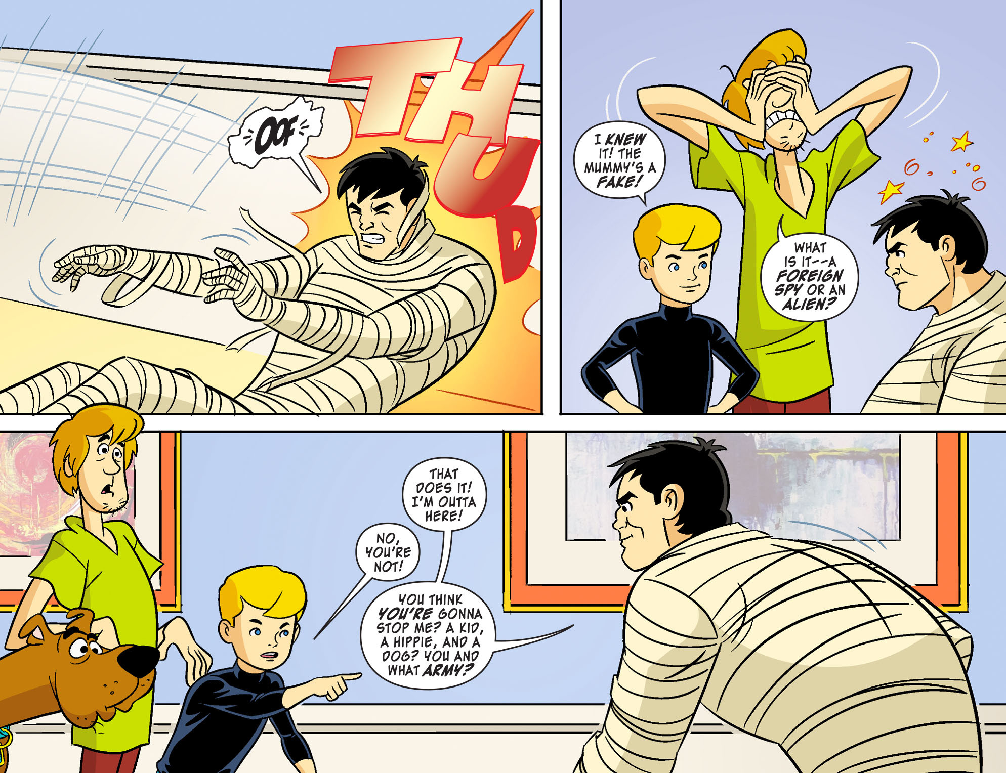 Read online Scooby-Doo! Team-Up comic -  Issue #19 - 13