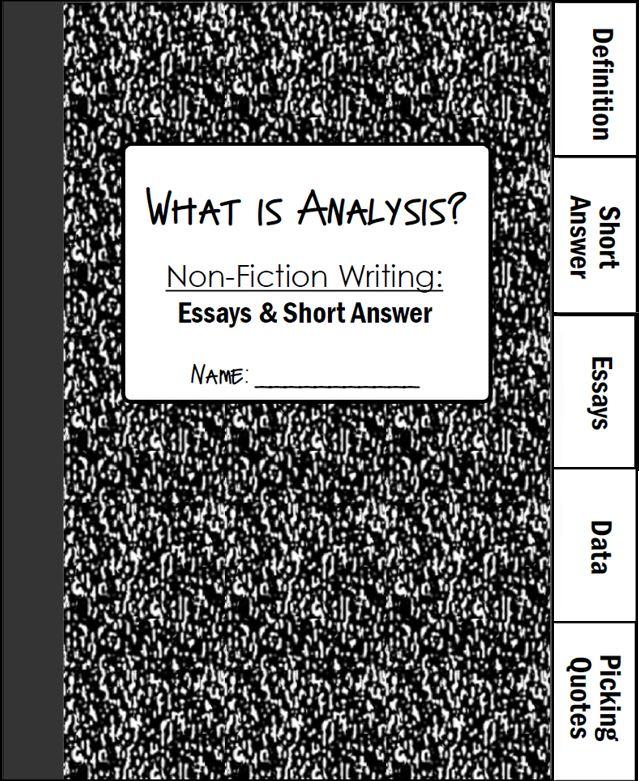 analyzing non fiction essay