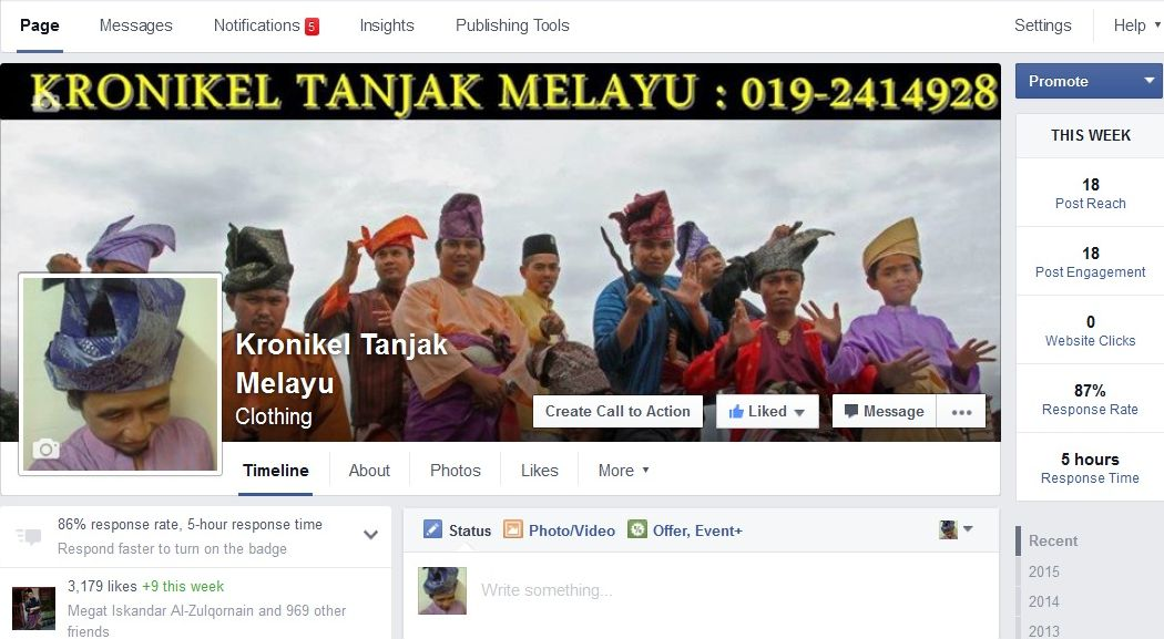 Pages FB Tanjak & Kump Gndg Gentala Sari