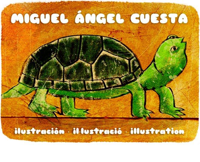 MIGUEL ÁNGEL CUESTA · ilustración ·