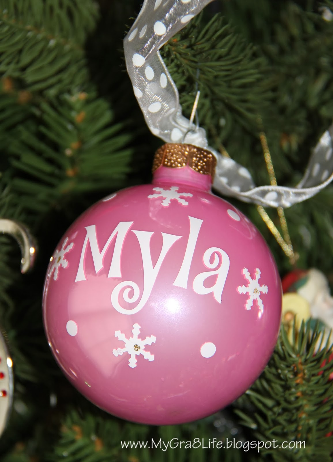 Name christmas ornaments - When I Got The First Set Of Ornaments I Found Them On Etsy At A Store Called Personalize 4 You The Shop Owner Created Beautiful Ornaments For Me