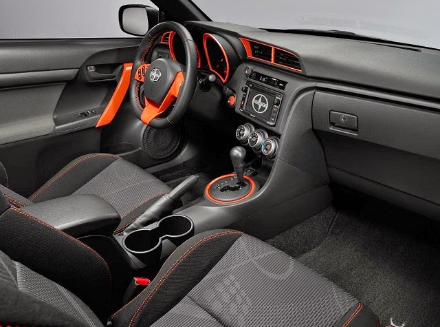 2016 scion TC Interior
