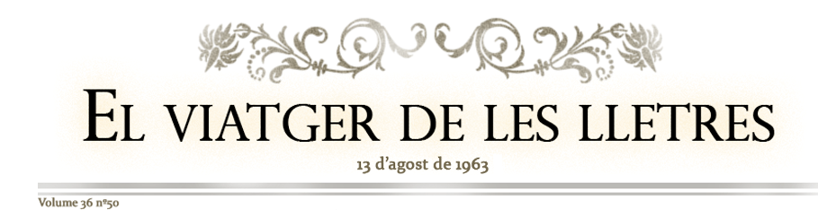 el viatger de les lletres