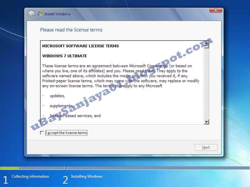 Cara Instal ulang windows menggunakan Flashdisk ~ B3T@H