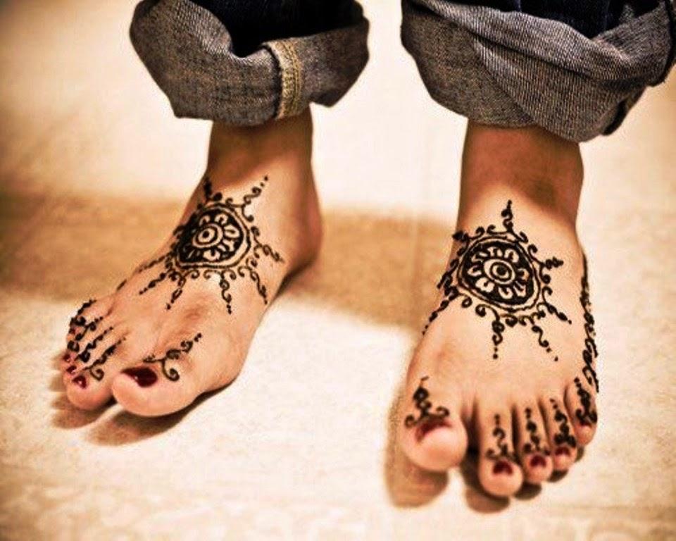 New Feet Mehndi Designs : New bridal mehndi designs for