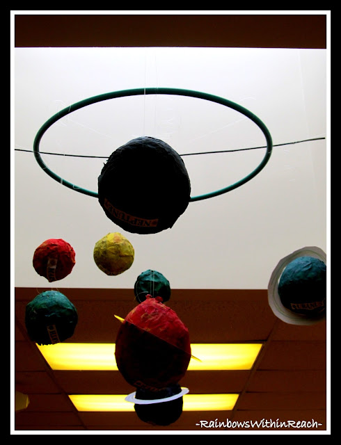 photo of: Planets in the ECE classroom via RainbowsWithinReach