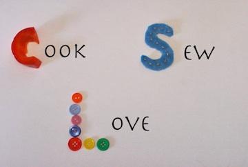 Cook, Sew, Love
